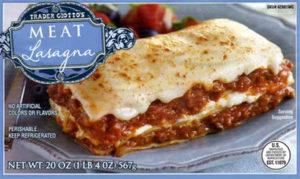 Trader Joe's Meat Lasagna