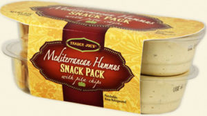 Trader Joe's Mediterranean Hummus Snack Pack
