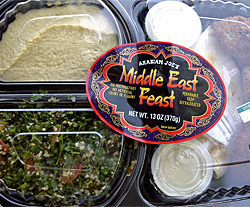 Trader Joe's Middle East Feast