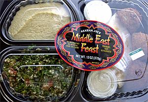 Trader Joe's Middle East Feast
