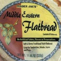 Trader Joe's Middle Eastern Flatbread