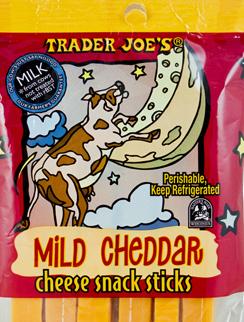 Trader Joe's Mild Cheddar Cheese Snack Sticks