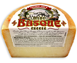 Trader Joe's Mini Basque Cheese