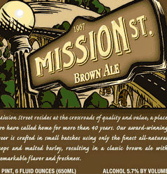 Mission St. Brown Ale