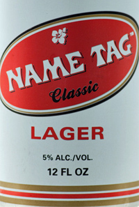 Name Tag Classic Lager