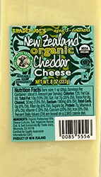 Trader Joe's New Zealand Organic Cheddar Cheese