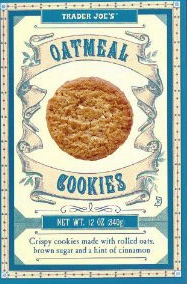 Trader Joe's Oatmeal Cookies