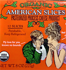 Trader Joe's Organic American Cheese Slices