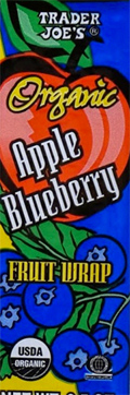 Trader Joe's Organic Apple Blueberry Fruit Wrap