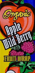 Trader Joe's Organic Apple Wild Berry Fruit Wrap