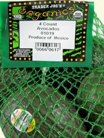 Trader Joe's Organic Avocados