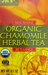 Trader Joe's Organic Chamomile Herbal Tea
