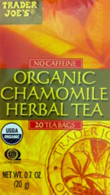 Trader Joe's Organic Chamomile Herbal Tea