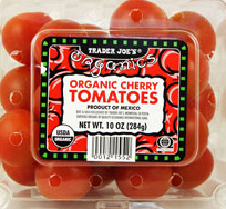 Trader Joe's Organic Cherry Tomatoes