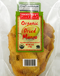 Trader Joe's Organic Dried Mango