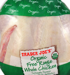 Trader Joe's Organic Free Range Whole Chicken