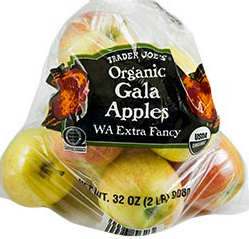 Trader joe's Organic Gala Apples