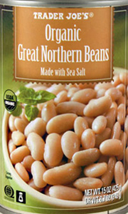Trader Joe's Organic Great Northern Beans