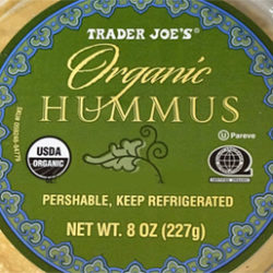 Trader Joe's Organic Hummus