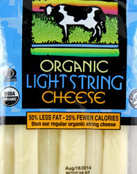 Trader Joe's Organic Light String Cheese