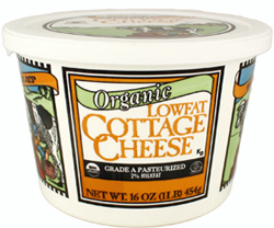 Trader Joe's Organic Low Fat Cottage Cheese