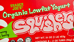Trader Joe's Organic Low Fat Yogurt Squishers