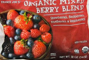 Trader Joe's Organic Mixed Berry Blend