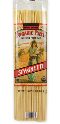 Trader Joe's Organic Pasta Spaghetti