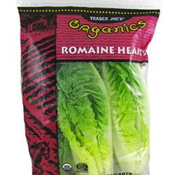 Trader Joe's Organic Romaine Hearts
