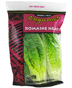 Trader Joe's Organic Romaine Hearts