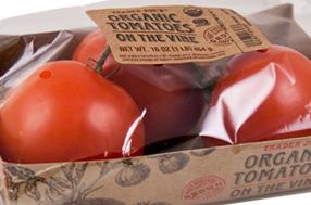 Trader Joe's Organic Tomatoes on the Vine