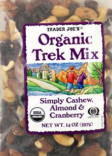 Trader Joe's Organic Trek Mix