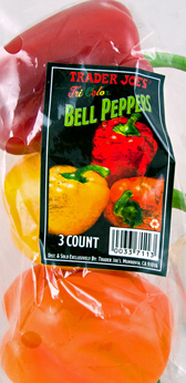 Trader Joe's Organic Tricolor Bell Peppers
