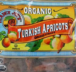Trader Joe's Organic Dried Turkish Apricots
