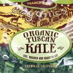 Trader Joe's Organic Tuscan Kale