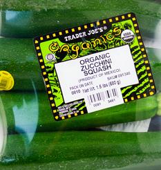 Trader Joe's Organic Zucchini Squash