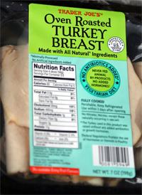 Trader Joe's Oven Roasted Turkey Breast Slices