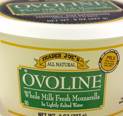 Trader Joe's Ovoline Whole Milk Fresh Mozzarella