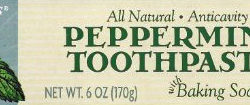 Trader Joe's Peppermint Toothpaste