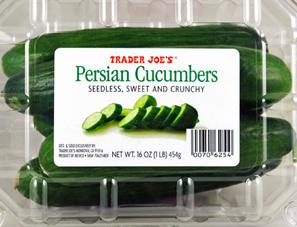 Trader Joe's Persian Cucumbers