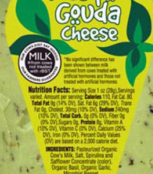Trader Joe's Pesto Gouda Cheese