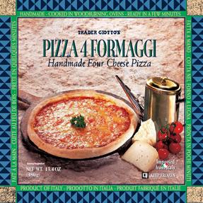 Trader Joe's Pizza 4 Cheese Formaggi