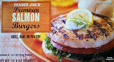 Trader Joe's Salmon Burgers