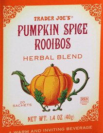 Trader Joe's Pumpkin Spice Rooibos Herbal Tea