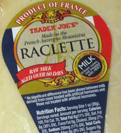 Trader Joe's Raclette Cheese