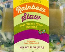 Trader Joe's Rainbow Slaw Salad