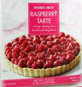 Trader Joe's Raspberry Tarte