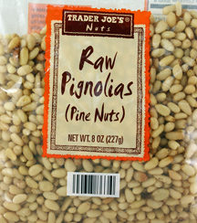 Trader Joe's Raw Pignolias Pine Nuts