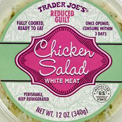 Trader Joe's Reduced Guilt Chicken Salad