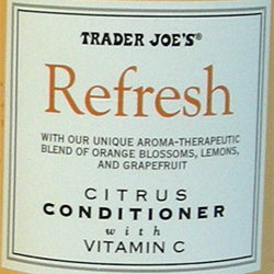 Trader Joe's Refresh Citrus Conditioner